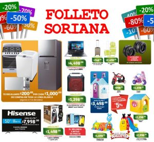 folleto soriana
